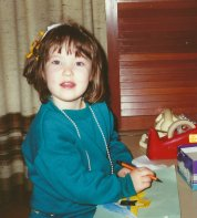 Yes, I was an adorable kid.