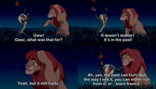 Rafiki-Teaches-Simba-You-Can-Either-Run-From-The-Past-Or-Learn-From-it-In-The-Lion-King